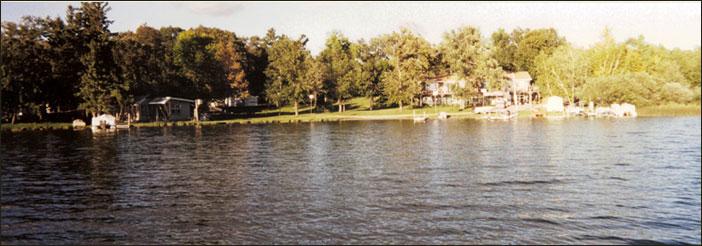Hideaway Resort located on beautiful Island Lake near Detroit Lakes