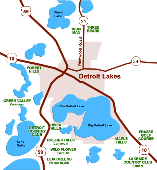 Detroit Lakes, Minnesota USA, located near 412 beautiful fishing lakes, beautiful minnesota ...